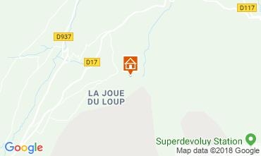 Map Superdévoluy- La Joue du Loup Chalet 115811