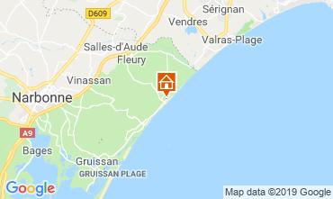 Map Saint Pierre la Mer Villa 119043