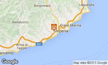 Map Imperia Villa 20753