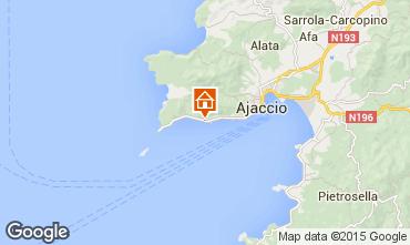 Map Ajaccio One-room apartment 95253