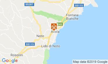 Map Avola Apartment 87482