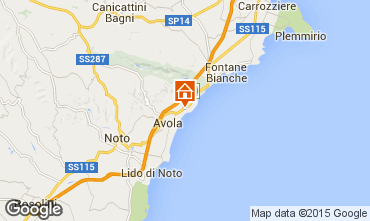 Map Avola Apartment 79172
