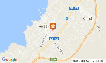 Map Terrasini Apartment 105923