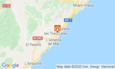 Map La Ametlla de Mar Villa 114098