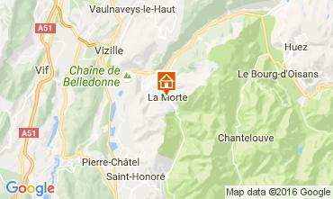 Map Alpe du Grand Serre One-room apartment 112