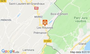 Map Les Rousses Chalet 3770