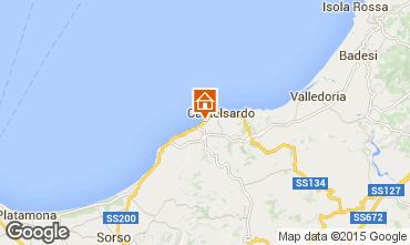 Map Castelsardo Apartment 81461