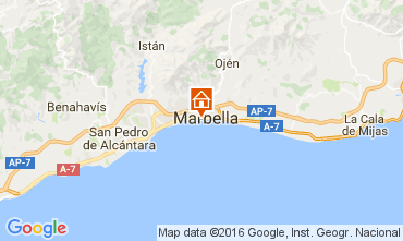 Map Marbella Apartment 42108