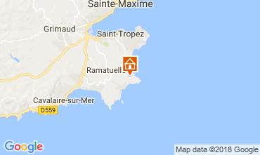 Map Ramatuelle Mobile home 5698