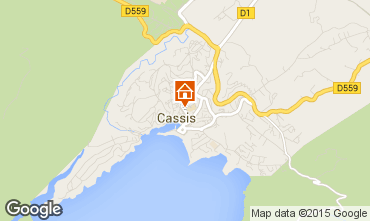 Map Cassis House 48095