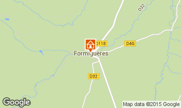 Map Formiguères House 4019