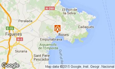 Map Rosas Apartment 8306