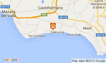 Map Triscina Villa 104973