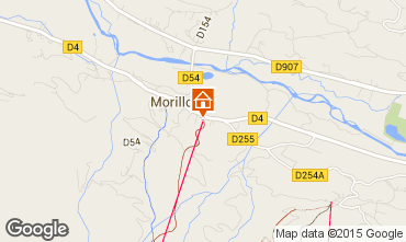 Map Morillon Grand Massif One-room apartment 24998