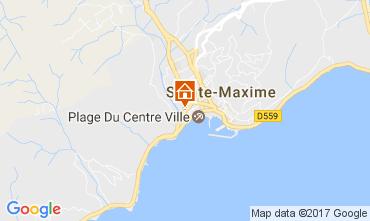 Map Sainte Maxime One-room apartment 108032