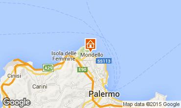 Map Mondello Apartment 54700