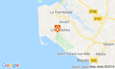 Map Royan Mobile home 59404