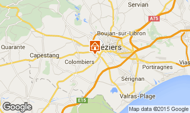 Map Beziers House 92812
