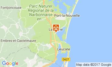 Map Leucate Villa 112338