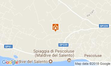 Map Pescoluse Villa 114253