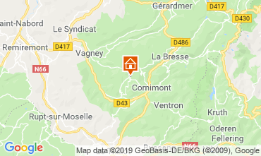 Map La Bresse Bed and breakfast 118267