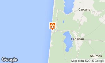 Map Lacanau Chalet 6690