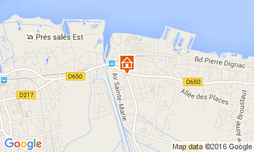 Map Arcachon House 105102