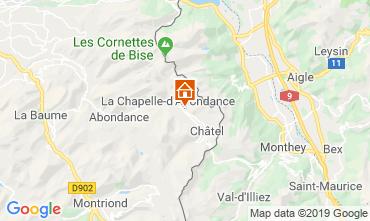 Map Châtel Chalet 16141