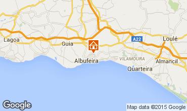 Map Albufeira Apartment 34940
