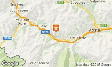 Map Saint Nicolas Vacation rental 91491