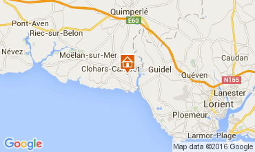 Map Clohars Carnoet Mobile home 103630
