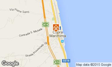 Map Cupra Marittima Apartment 14674