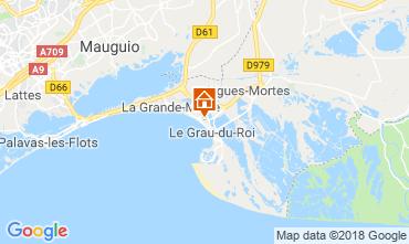 Map Le Grau du Roi Apartment 111460