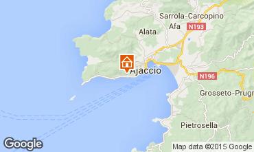 Map Ajaccio One-room apartment 66053