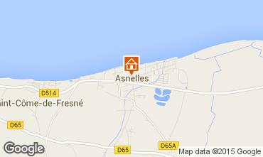 Map Asnelles Apartment 67642