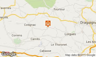 Map Cotignac House 78845