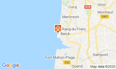 Map Berck-Plage Apartment 91344
