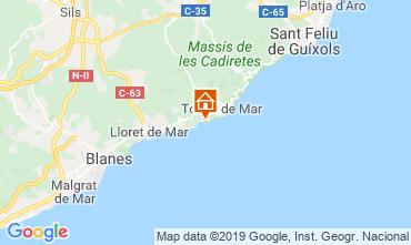 Map Tossa de Mar One-room apartment 118919