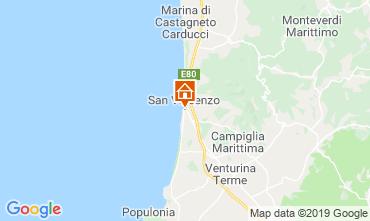 Map San Vincenzo Apartment 118160