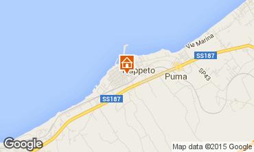 Map Trappeto Apartment 96876