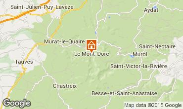 Map Le Mont Dore Apartment 42364