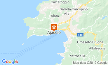 Map Ajaccio One-room apartment 118240