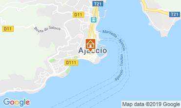 Map Ajaccio One-room apartment 118240