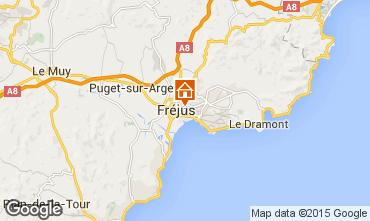 Map Fréjus Apartment 68787
