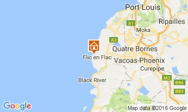 Map Flic-en-Flac Villa 107108
