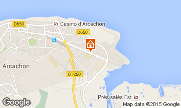 Map Arcachon Apartment 60781