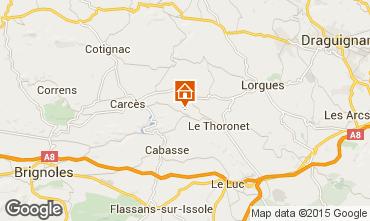 Map Le Thoronet House 98597