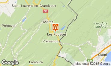 Map Les Rousses Apartment 3772