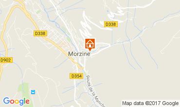 Map Morzine Chalet 112046