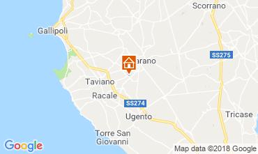 Map Casarano Villa 116433